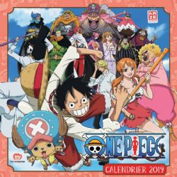 ONE PIECE -  CALENDRIER 2019 (12 MOIS)
