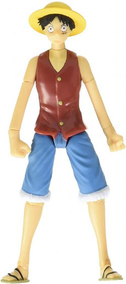ONE PIECE -  FIGURINE ARTICULÉE DE LUFFY (12CM)