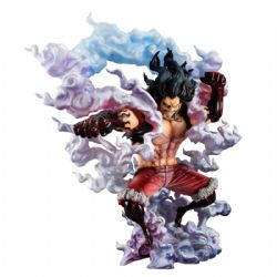 ONE PIECE -  FIGURINE DE MONKEY D. LUFFY GEAR4 SNAKE MAN - (25.5 CM) -  PORTRAIT OF PIRATES - SAILING AGAIN