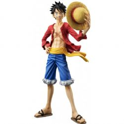 ONE PIECE -  FIGURINE DE MONKEY D. LUFFY - VER. 2 (22 CM) (RÉÉDITION) -  PORTRAIT OF PIRATES - SAILING AGAIN