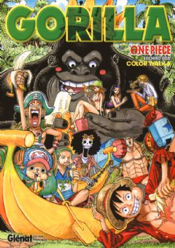 ONE PIECE -  GORILLA - COLOR WALK 06