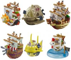 ONE PIECE -  MINI MYSTERY - BATEAU PIRATE YURA YURA 3E SÉRIE (8 CM) COLLECTION DE 6