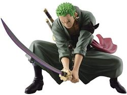 ONE PIECE -  STATUE DE RORONOA ZORO (13CM) -  SCULTURES BIG COLOSSEUM 4 V3