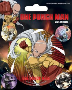 ONE-PUNCH MAN -  ENSEMBLE DE 5 STICKERS VINYL