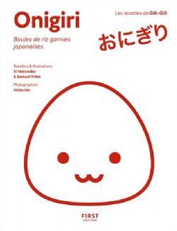 ONIGIRIS - BOULES DE RIZ JAPONAISES GARNIES