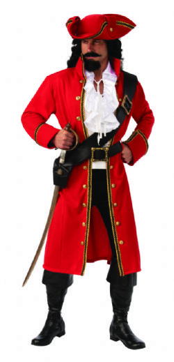 OPUS COLLECTION -  COSTUME DE PIRATE CAPITAINE (ADULTE) -  OPUS COLLECTION