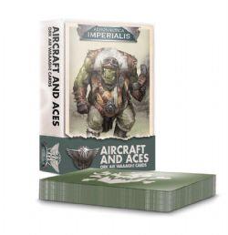 ORK AIR WAAAGH! CARDS -  AIRCRAFT AND ACES (ANGLAIS) -  AERONAUTICA IMPERIALIS