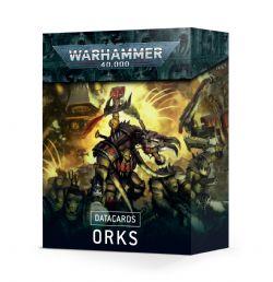 ORKS -  CARTES TECHNIQUES (ANGLAIS)