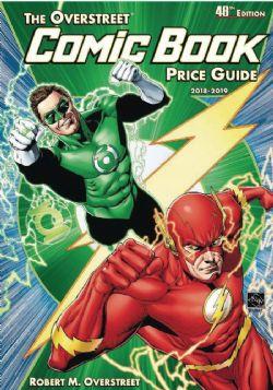 OVERSTREET -  COMIC BOOK PRICE GUIDE (FLASH GREEN LANTERN) HC 48