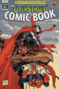 OVERSTREET -  COMIC BOOK PRICE GUIDE HC 50