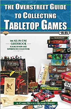 OVERSTREET -  GUIDE TO COLLECTING TABLETOP GAMES