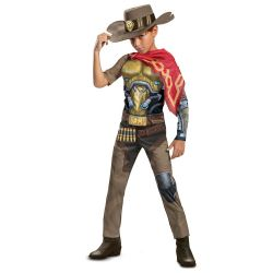 OVERWATCH -  COSTUME DE MCCREE (ENFANT)