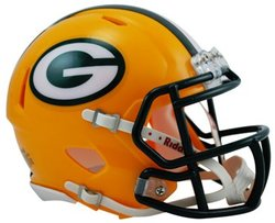 PACKERS DE GREEN BAY -  CASQUE JAUNE -  MINI RÉPLIQUE