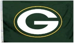 PACKERS DE GREEN BAY -  DRAPEAU HORIZONTAL 36
