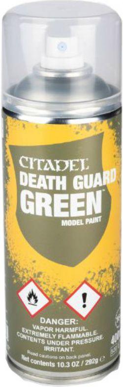 PAINT -  DEATH GUARD GREEN SPRAY PAINT / PRIMER