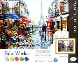 PAINT WORKS -  PRINTEMPS À PARIS (35.5 CM X 50.8 CM)