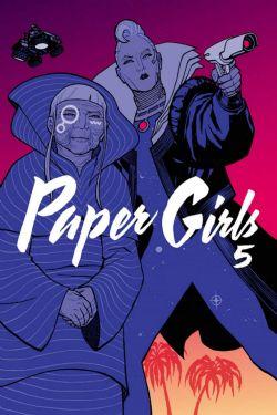 PAPER GIRLS -  PAPER GIRLS TP 05