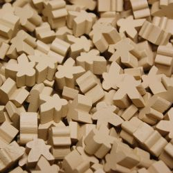 PAQUET DE 25 MEEPLE -  OCRE