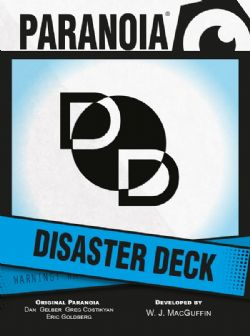 PARANOIA -  DISASTER DECK (ANGLAIS)