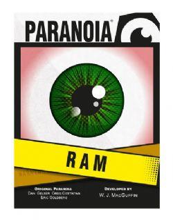 PARANOIA -  RAM (ANGLAIS)