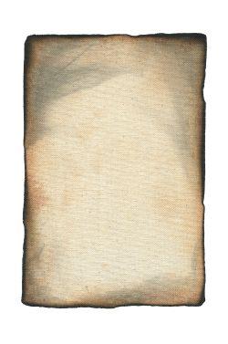 PARCHEMIN -  BRULÉ (6 X 9)