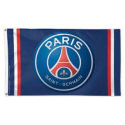 PARIS ST-GERMAIN FC -  DRAPEAU LOGO (91.44 X 152.40 CM)