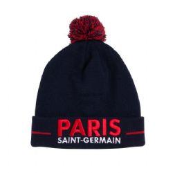 PARIS ST-GERMAIN FC -  TUQUE AVEC POMPON