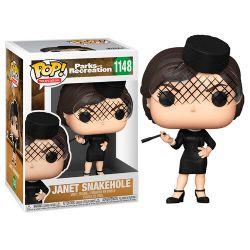 PARKS AND RECREATION -  FIGURINE POP! EN VINYLE DE JANET SNAKEHOLE (10 CM) 1148