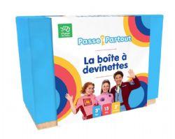 PASSE-PARTOUT -  LA BOÎTE À DEVINETTES (FRANÇAIS)