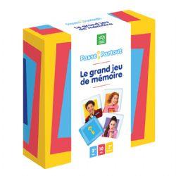 PASSE-PARTOUT -  LE GRAND JEU DE MÉMOIRE (FRANÇAIS)