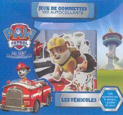 PAT'PATROUILLE -  JEUX DE GOMMETTES - 100 AUTOCOLLANTS