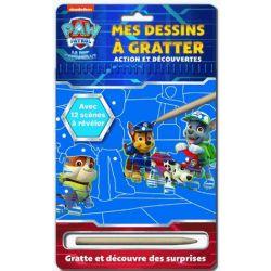 PAT'PATROUILLE -  MES DESSINS À GRATTER
