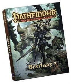 PATHFINDER 2E -  BESTIARY 3 ÉDITION DE POCHE (ANGLAIS)