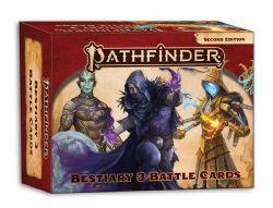 PATHFINDER 2E -  BESTIARY 3 BATTLE CARDS (ANGLAIS) -  PATHFINDER BATTLES DEEP CUTS