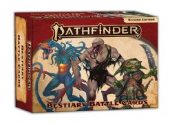 PATHFINDER 2E -  BESTIARY BATTLE CARDS (ANGLAIS)