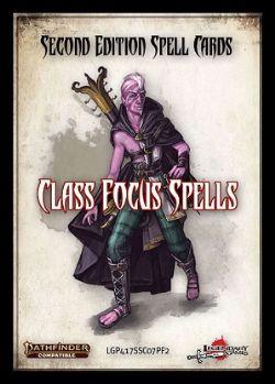 PATHFINDER 2E -  CLASS FOCUS SPELLS (ANGLAIS) -  SPELL CARDS