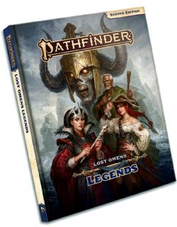 PATHFINDER 2E -  LEGENDS (ANGLAIS) -  LOST OMENS