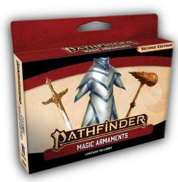 PATHFINDER 2E -  MAGIC ARMAMENTS CARDS (ANGLAIS)