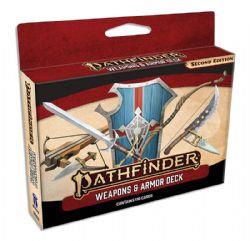 PATHFINDER 2E -  WEAPONS & ARMOR DECK (ANGLAIS)