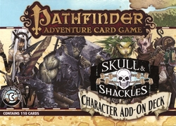 PATHFINDER ADVENTURE CARD GAME -  CHARACTER ADD-ON DECK (ANGLAIS) -  SKULL & SHACKLES