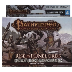 PATHFINDER ADVENTURE CARD GAME -  FORTRESS OF THE STONE GIANTS - ADVENTURE DECK (ANGLAIS) -  RISE OF THE RUNELORDS