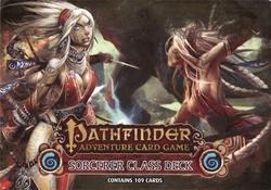 PATHFINDER ADVENTURE CARD GAME -  SORCERER CLASS DECK (ANGLAIS)