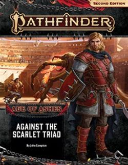 PATHFINDER -  AGAINST THE SCARLET TRIAD (ANGLAIS) -  AGE OF ASHES 5