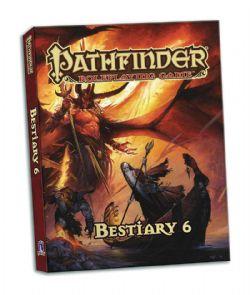 PATHFINDER -  BESTIARY 6 ÉDITION DE POCHE (ANGLAIS)