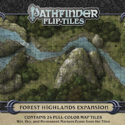 PATHFINDER -  FOREST HIGHLANDS EXPANSION SET -  FLIP-TILES