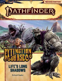 PATHFINDER -  LIFES LONG SHADOWS (ANGLAIS) -  EXTINCTION CURSE 03