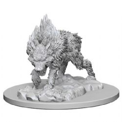 PATHFINDER MINIATURES -  DIREWOLF -  DEEP CUTS