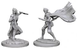 PATHFINDER MINIATURES -  ELF FEMALE ROGUE (2) -  DEEP CUTS