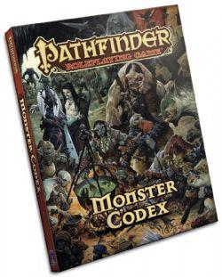 PATHFINDER -  MONSTER CODEX -  POCKET EDITION