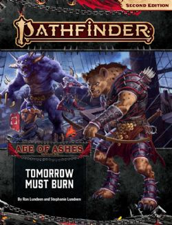 PATHFINDER -  TOMORROW MUST BURN (ANGLAIS) -  AGE OF ASHES 3